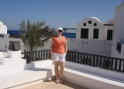 Фото туриста. на крыше Арабеллы