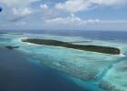 Фото туриста. Остров с гидросамолета