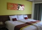 Фото туриста. номер superior со сдвинутыми 2-мя одноместными кроватями