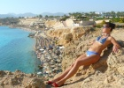 Фото туриста. Вид на пляж...)
