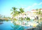 Фото туриста. Вид отеля с бассейна