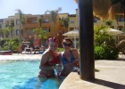 Фото туриста. это мы с подругой в бассейне!!!!