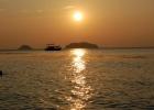 Фото туриста. закат на о. Чанг