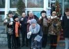 Фото туриста. Перед отелем СИРИУС 31.12.2008