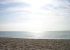 Фото туриста. Пляж в утренних лучах )