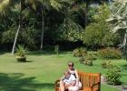Фото туриста. Сыночек с мамой в парке