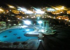 Фото туриста. вид с крыши на территорию гостиницы