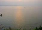 Фото туриста. Вид на море с бассейна