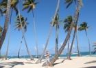 Фото туриста. пляж рядом с отелем