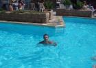 Фото туриста. В бассейне