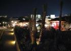 Фото туриста. Домина ночью. Итальянское кафе.