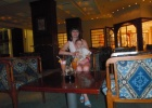 Фото туриста. в баре