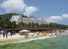 Фото туриста. Отель вид с пляжа