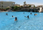 Фото туриста. у бассейна с подогревом