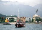Фото туриста. Вид на Олимпос с моря