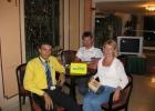 Фото туриста. с нашим гидом в холле отеля