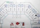 Фото туриста. План номеров на этаже