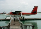 Фото туриста. самолетик до острова