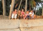Фото туриста. с местными жителями.