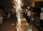 Фото туриста. Фейеверк и праздничный торт 9 мая!