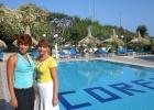 Фото туриста. Около Corfu