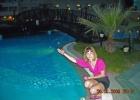 Фото туриста. я у ночного бассейна :)