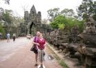 Фото туриста. Южные ворота Ангкор Хом
