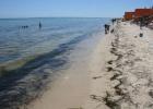 Фото туриста. Вот такой там загаженный пляж и море.