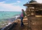 Фото туриста. море прекрасно