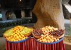 Фото туриста. фрукты