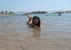 Фото туриста. на пляже)