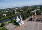 Фото туриста. Панорама Вологды со смотровой площадки (65м.) Софийской колокольни