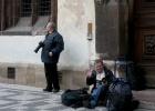 Фото туриста. Фотографы в ожидании боя Орлой