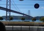 Фото туриста. Мост 25-апреля и статуя Христа