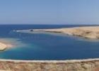 Фото туриста. панорама пляжа