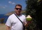 Фото туриста. Прохладный кокосовый сок!