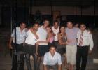 Фото туриста. работники отеля и мы