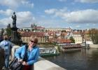 Фото туриста. на Карловом Мосту