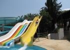 Фото туриста. горки у детского бассейна