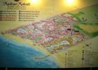 Фото туриста. Схема отелей в бухте Мадинат Макади.