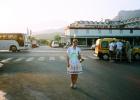 Фото туриста. у отеля