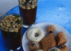 Фото туриста. знаменитый чай с кедровыми орешками