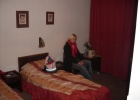Фото туриста. в номере отеля Penson Cora hotel