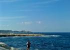 Фото туриста. вид с пляжа отеля