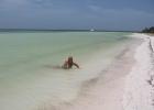 Фото туриста. на необитаемом острове