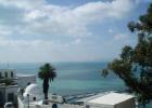 Фото туриста. Бело-голубой город - пристанище богемы.. вид на лазурное море