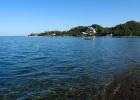 Фото туриста. море, а вдалеке замечательный Club Phaselis