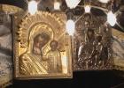 Фото туриста. Иерусалим. Икона радующейся Божьей Матери.