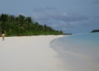Фото туриста. пляж на Sun Island