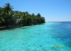 Фото туриста. Вид на остров с пирса